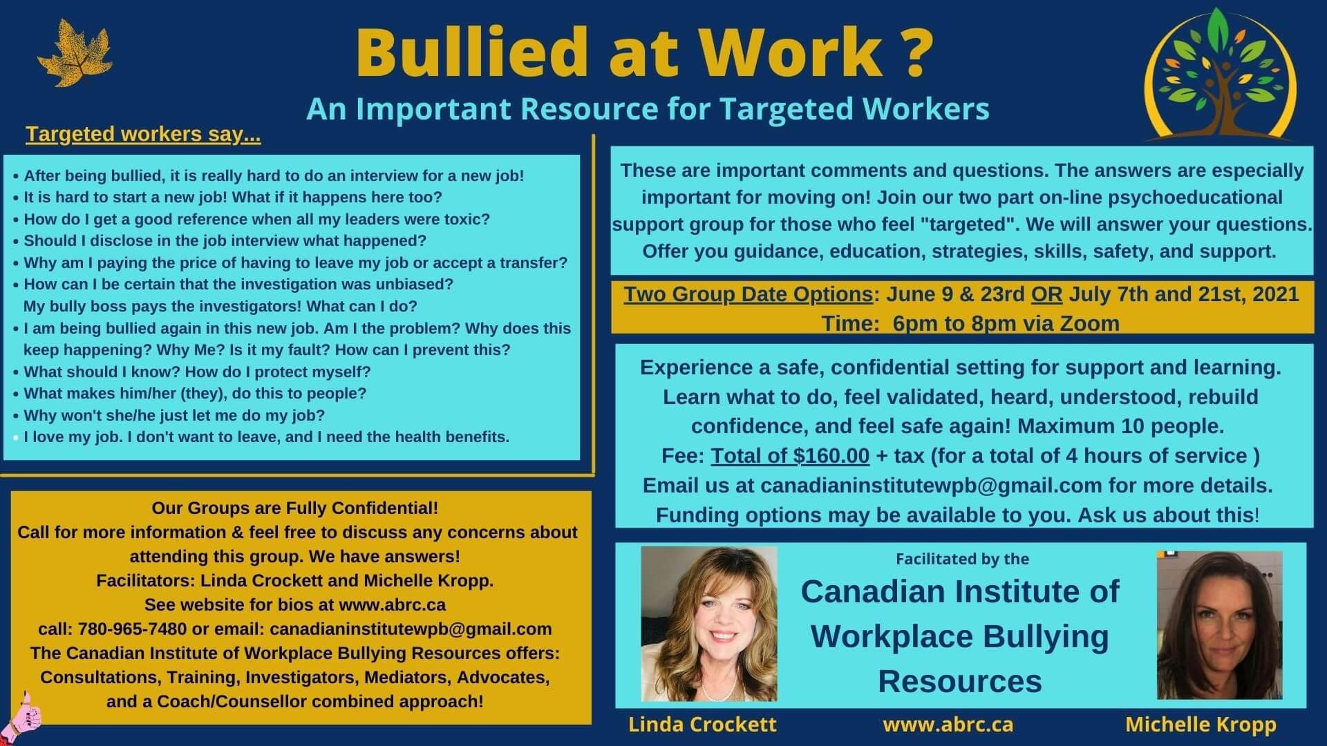 bullied at work seminar