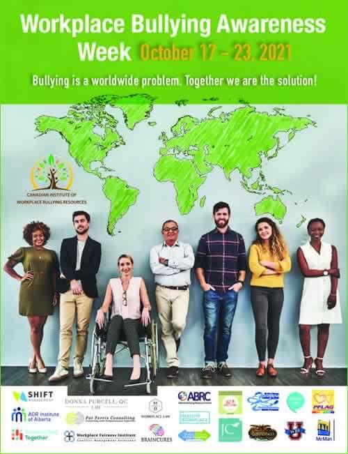 Workplace Bullying Awareness week, Canada