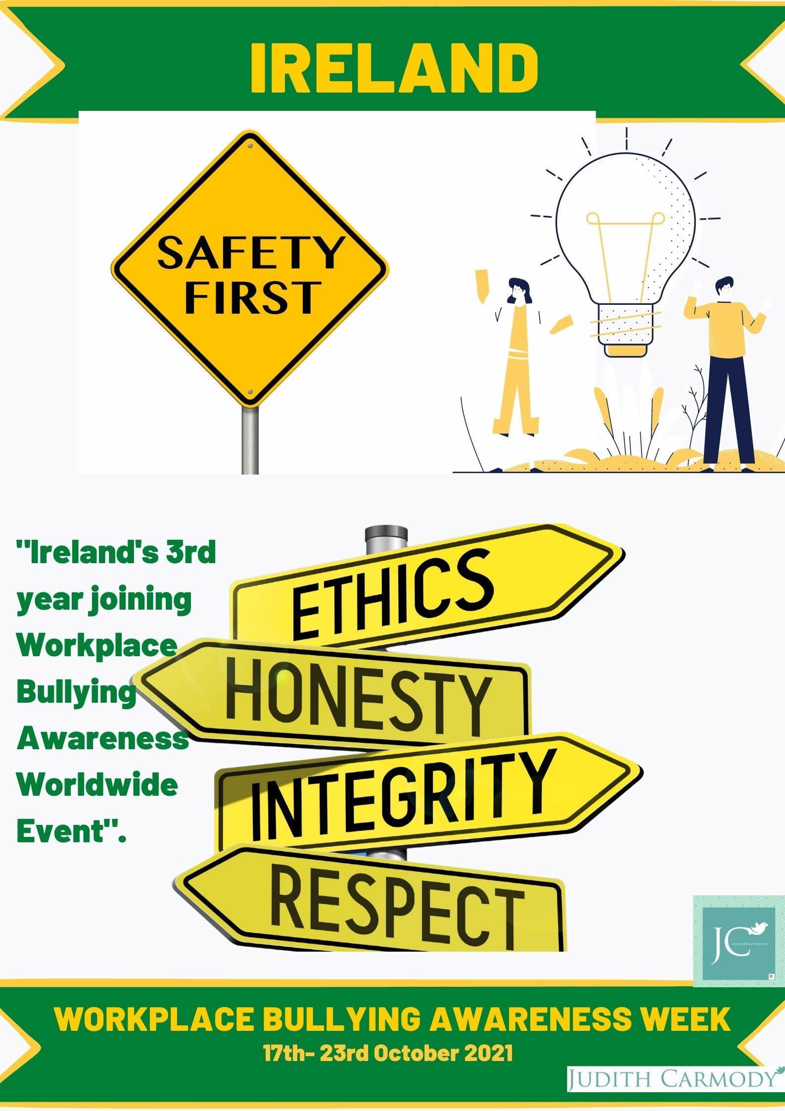 Workplace Bullying Awareness Week 2021, Ireland