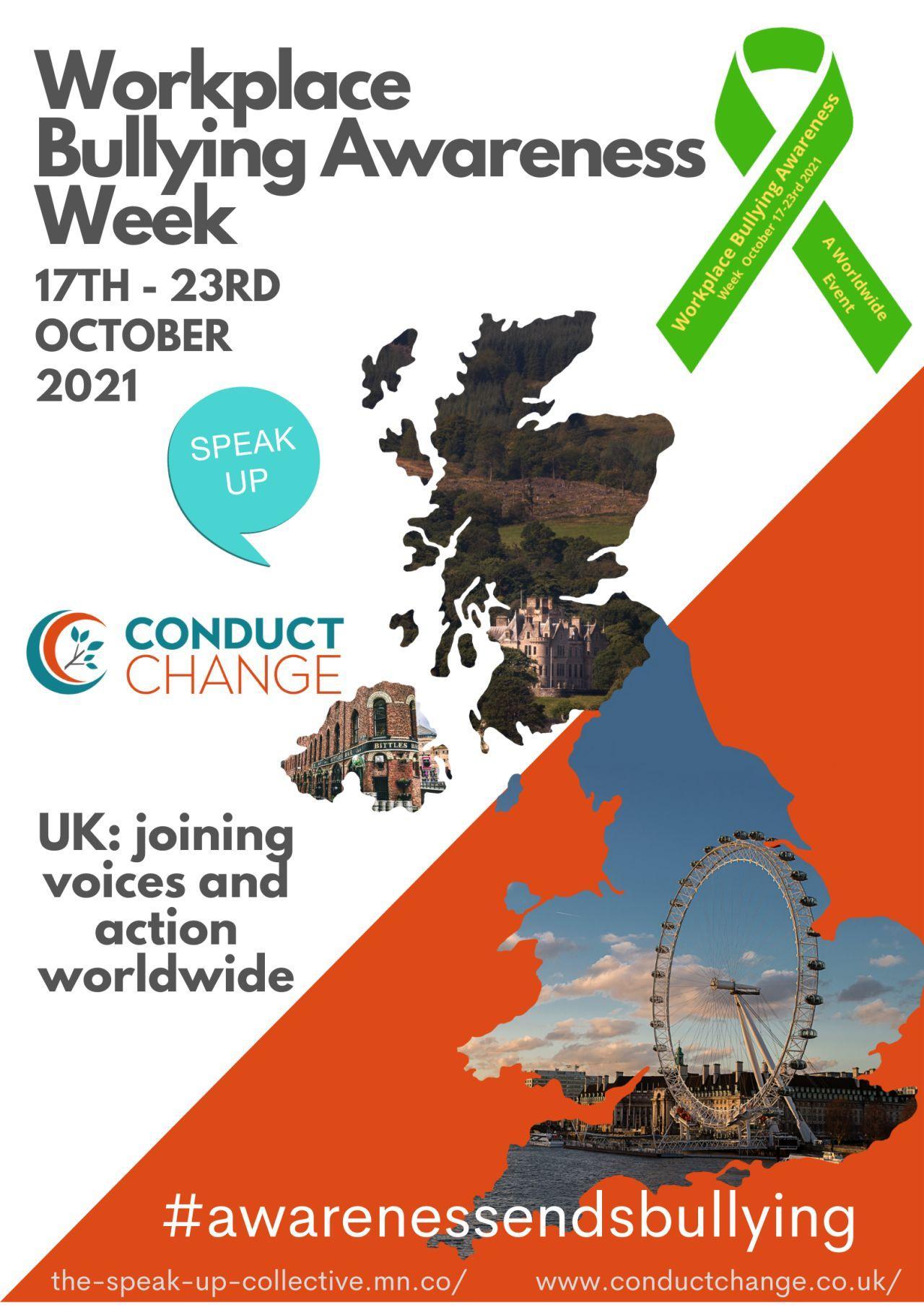 Workplace Bullying Awareness Week 2021, UK