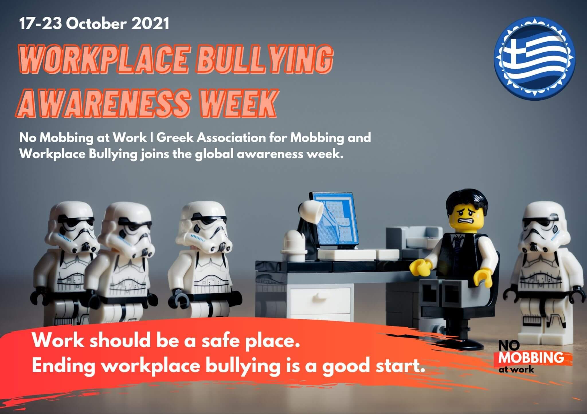 Workplace Bullying Awareness Week 2021, Greece