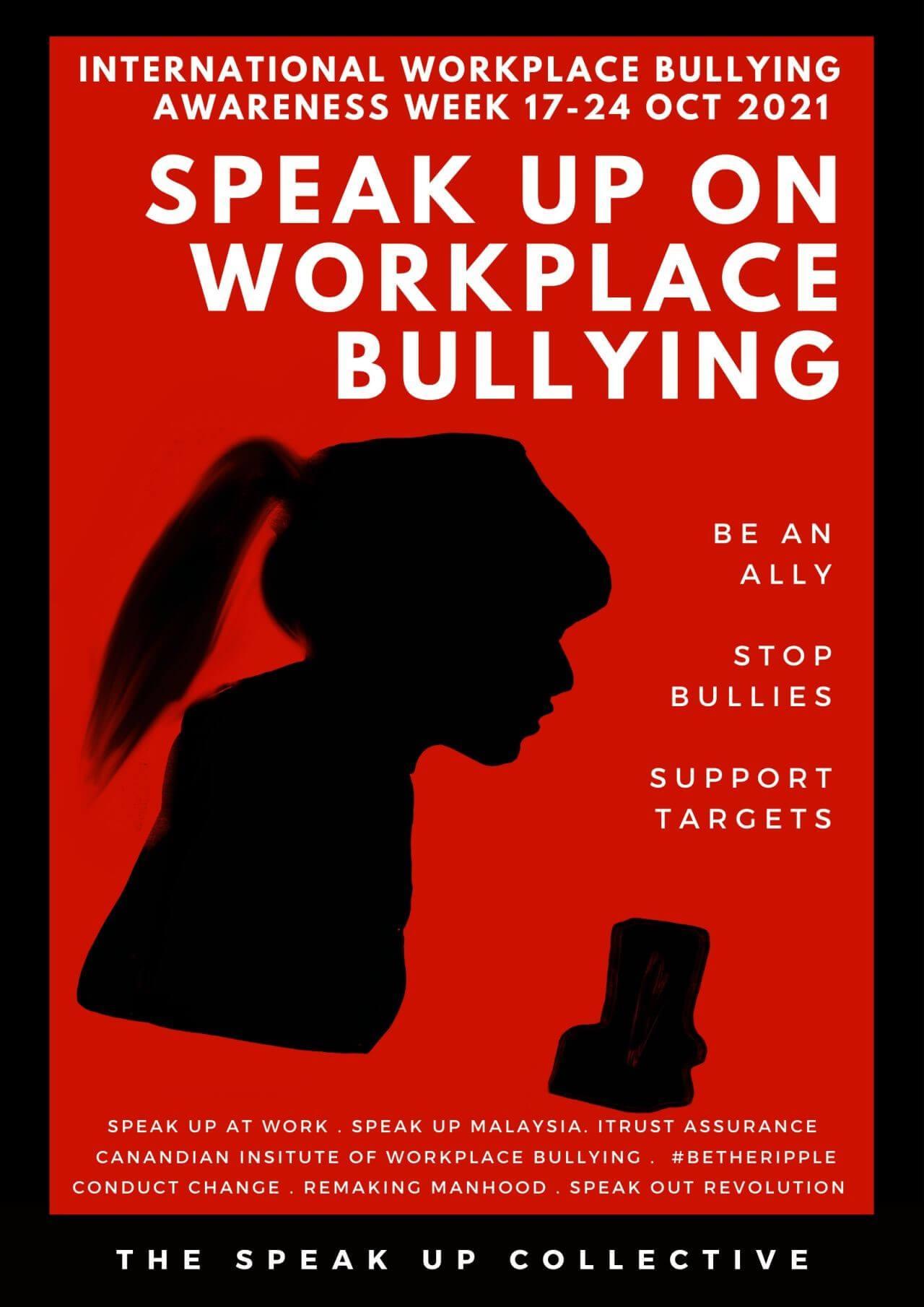 Workplace Bullying Awareness Week 2021, Malaysia