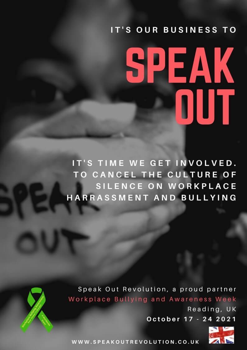 Workplace Bullying Awareness Week 2021, United Kingdom